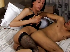 CD Teen Gives Her BF A Deep Anal