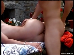 Ten Raunchy Boys In A Wild Outdoor BJ And Anal Sex Party