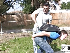 Tristan Sweet Gets Wedgied By Lance Hart