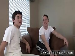 Gay white sock fetish free gallery Chris grasps that lollipop and